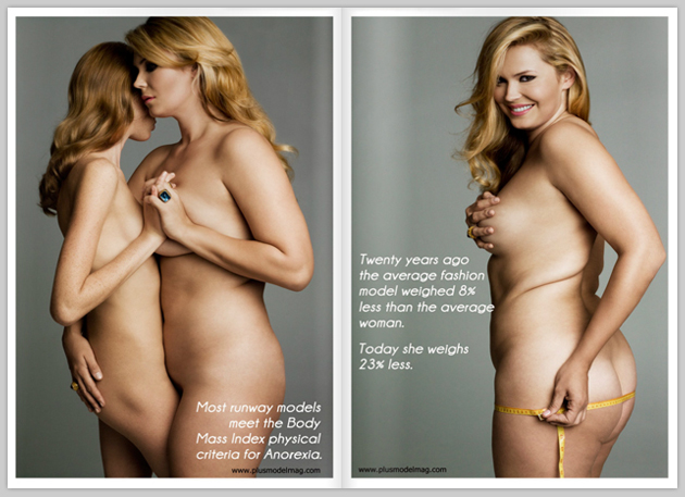 plus size nude model pics