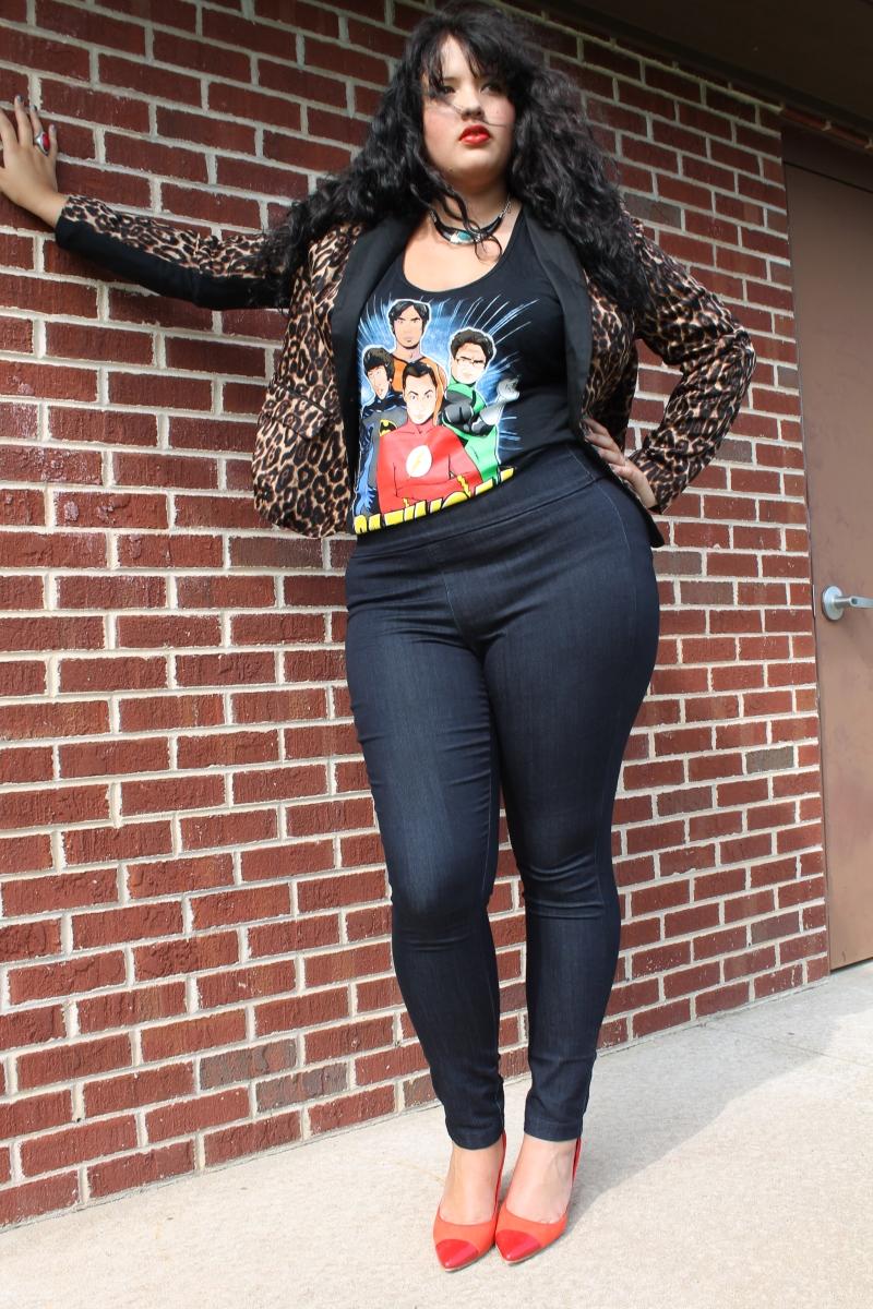 Marie Southard Plus Size Model